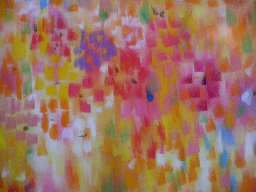 Eclats de fleurs-Pastel 040