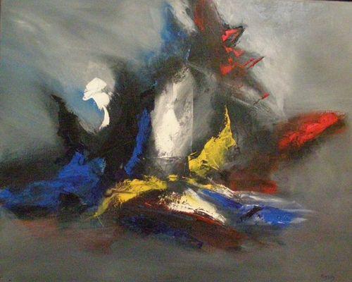 Sandrine Hirson - Réflecteur de rêves - Huile - 60 x80