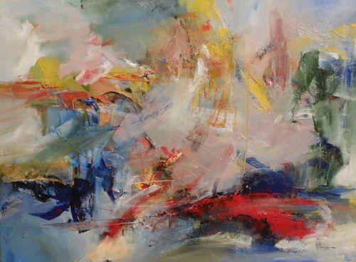 Nicolas Bouvigny - Naissance - Huile - 80 x 60