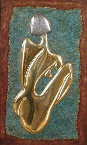 Didier Delitte - Odile - Sculpture plane - 49 x 82