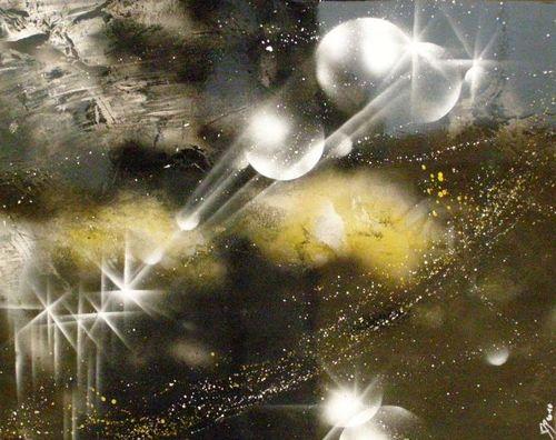 Virginie Dumetz - Spray sur Aluminium
