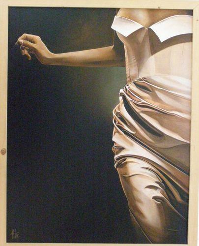 Alde-Frivolité-70x90-Acrylique