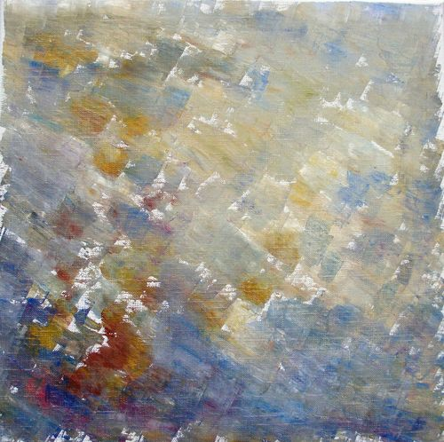 1 Incertaine - Huile sur toile - 40x40 - Marithé