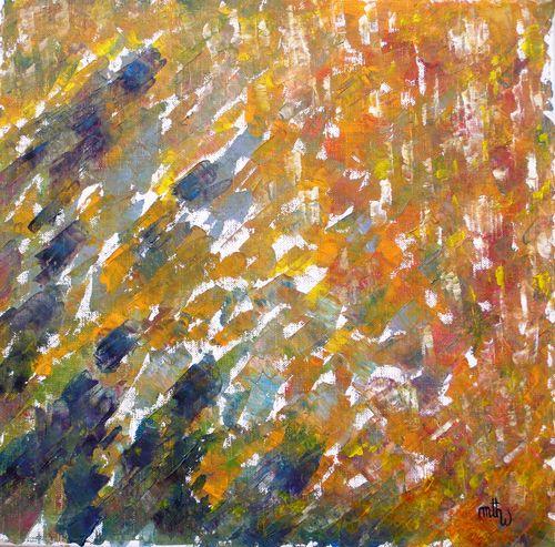 3 Fugitive - Huile sur toile - 40x40 - Marithé