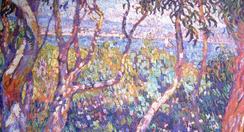 Eucalyptus(fragment)-1906-Théo Van Rysselberghe