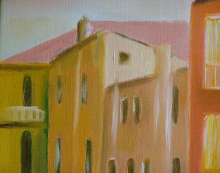 et les façades colorées ...