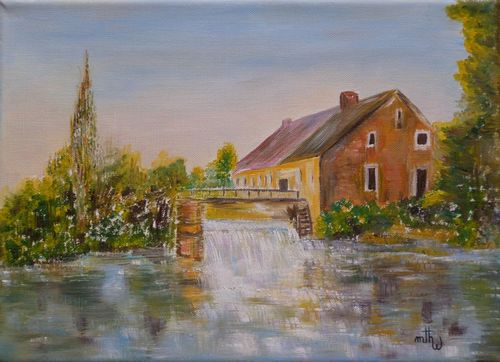 Le moulin de Vénérolles