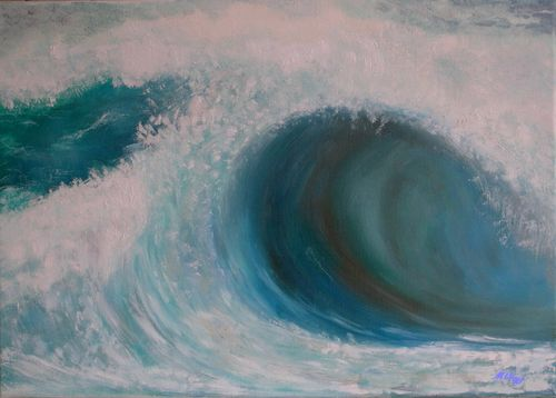 Sandy Beach - Hawaii 65x46